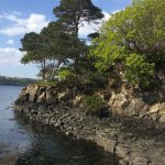 Great location. A lovely run from Tobermory (2.1km each way), plus about 2k around the lake.