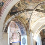 details of the frescoes
