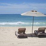 Beach off Xaman-ha
