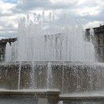 Castle square fountain