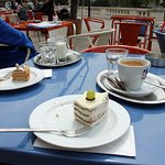 Coffee and cakes.........