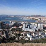 View over Gibraltar
