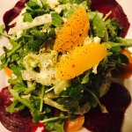Roasted Beet Salad with Fennel, Orange Segments with a Citrus Mustard Vinaigrette