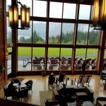 Great Room looking out over lawn and Columbia River
