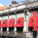 Elegante Fachada del siglo pasado Hotel en Puebla