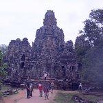ruins under reconstruction