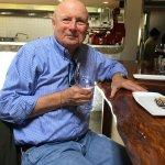 Michael enjoying a tasting at Valette Healdsburg