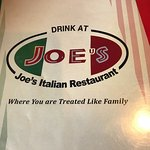 Φωτογραφία: Joe's Pizza and Pasta