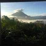 Arenal from hotel room
