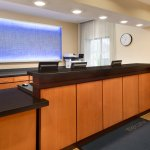 Front Desk of Fairfield Inn & Suites Minneapolis Bloomington/Mall of America