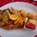 Stuffed French Toast with Mangos