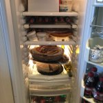 Big fridge for party food