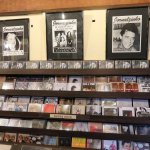 Just some of the CD's at Toca do Vinicius - Ipanema (10/May/17).