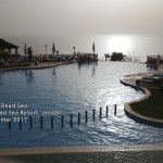 View of the Dead Sea from the Infinity Pool.