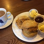 Gorgeous cream tea.