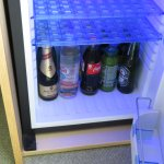 Drinks in fridge
