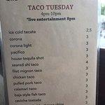 Taco Tuesday options