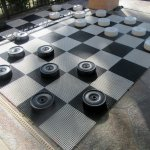 Giant Checker Board, Welk Resort, Cathedral City, CA