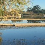 Rowing Pontoons on Lake Wendouree site of te 1956 Olympics