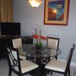 Dining room & TV