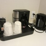 Good to have coffee and tea facilities.