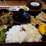 Bento Box for lunch. Truly delicious.