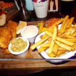 Hello, I am a fish and chips.