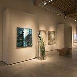 Interior installation photo of Iconic exhibition.