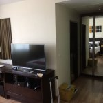 one of the bedrooms in the two bedroom serviced apartment