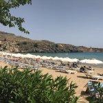 Photo de Lindos Beach