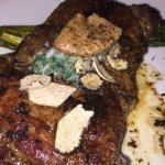 Ribeye steak - 120 dry aged -- Superb!!