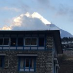 My room with a view at Namche