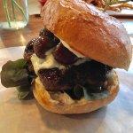 Saison Burger mit Maronen!