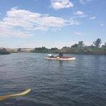 Boating at the Orange River