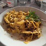 mmmmm...the tagliatelle are consistently excellent!