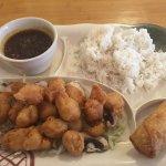 War Su Gai lunch special for $6.50.