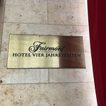 Foto di Fairmont Hotel Vier Jahreszeiten