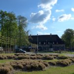 Heverlee, The Lodge with garden gone