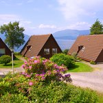 Our Waterfront Lodges Facing over Loch Linnhe.