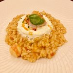 #3 Special Riserva Acquerello risotto burrata, and smoked lobster, tarragon