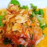 Salade de poulet aux vermicelles