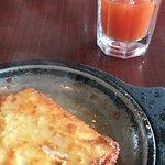 Saganaki...aka fried cheese...aka ❤️❤️❤️