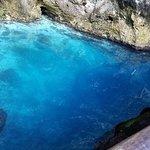 Blue Hole 250 ft deep
