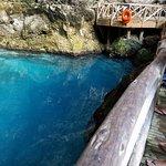 Blue hole cenote