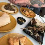 Lunch for two, and Wow! You pick three dishes for $22, everything was amazing!