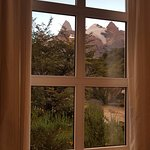 View of the Fitz Roy from one of the Bow Windows of the Dinning Room
