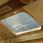 Asi de sucias estaban todas las ventanas del servicio panorámico