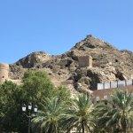 Les restes des murailles qui isolaient la vieille ville