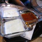 Salsas para acompañar el falafel
