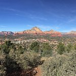 Northern view from the Sedona Airport Overlook